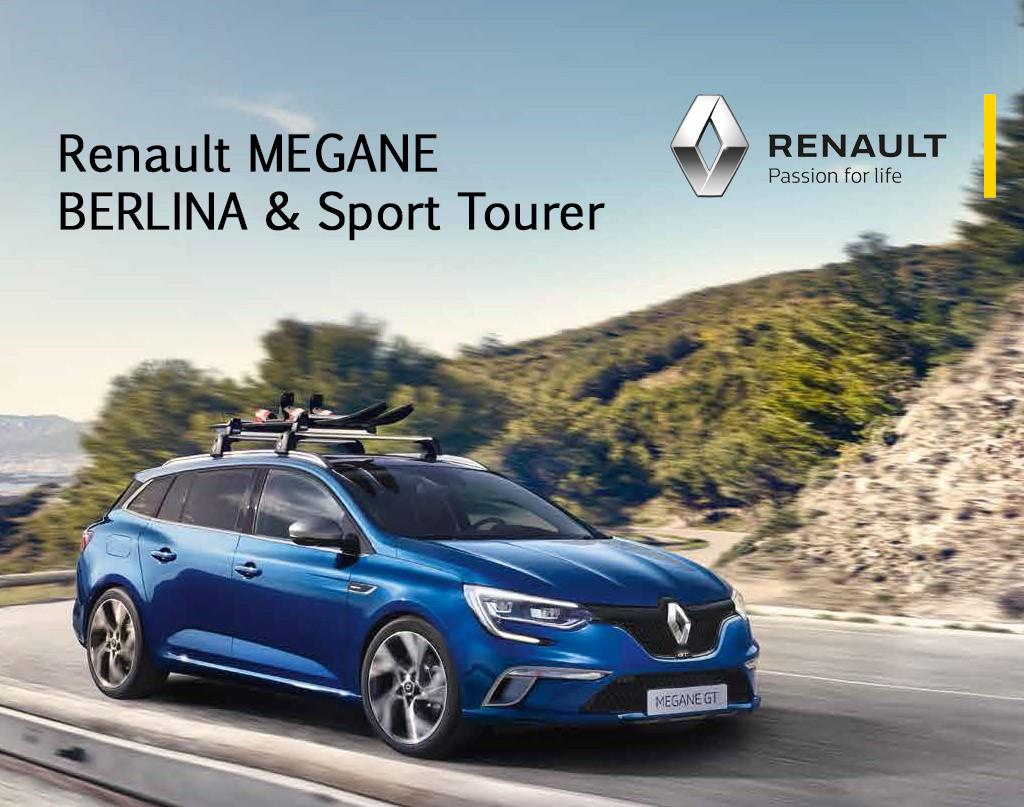 Gama de Accesorios Renault MEGANE BERLINA