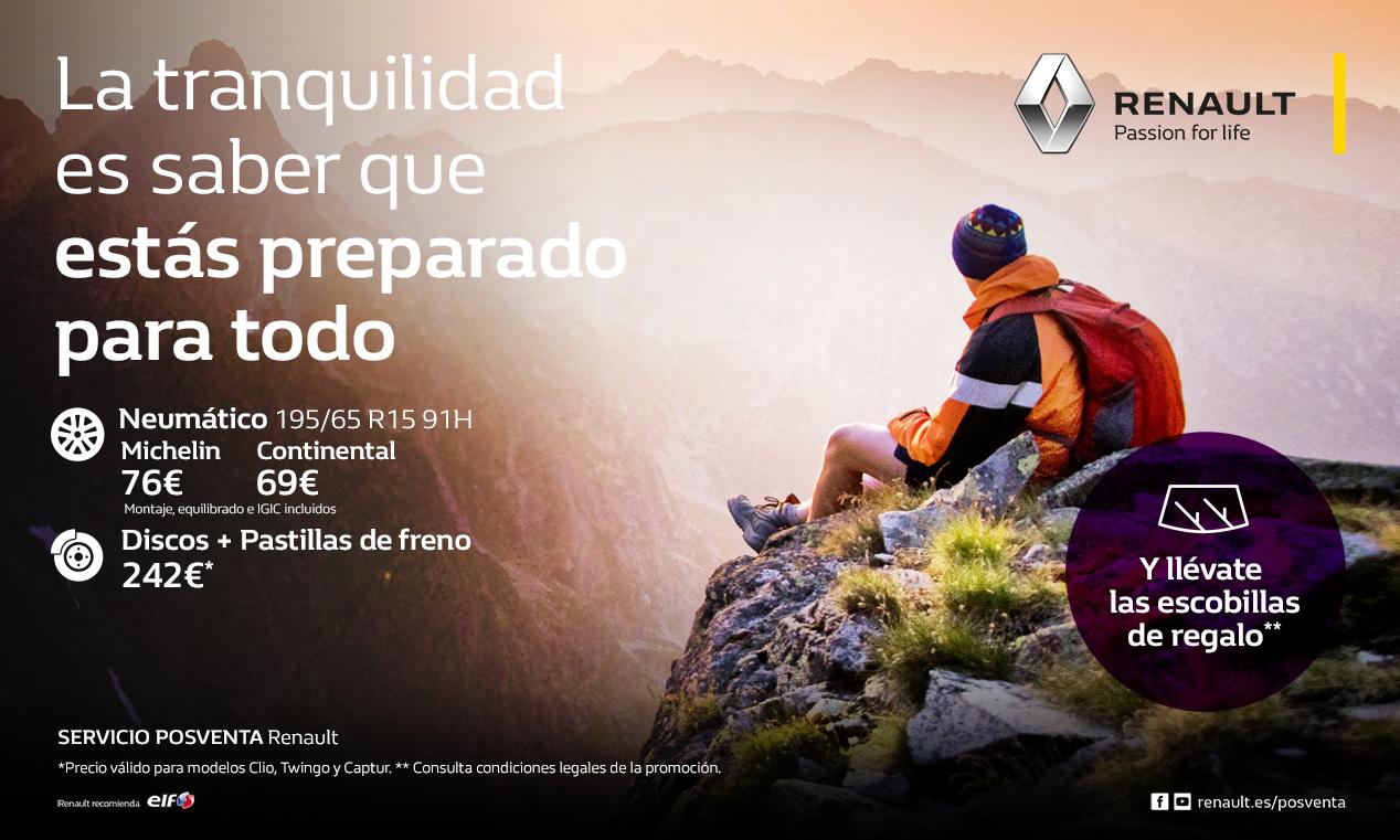 Renault seguridad precio mínimo