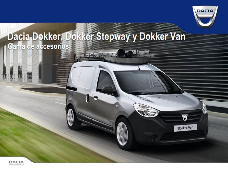 Gama de Accesorios Dacia Dokker