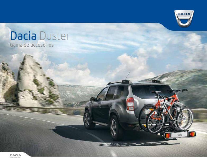 Gama de Accesorios Dacia Duster