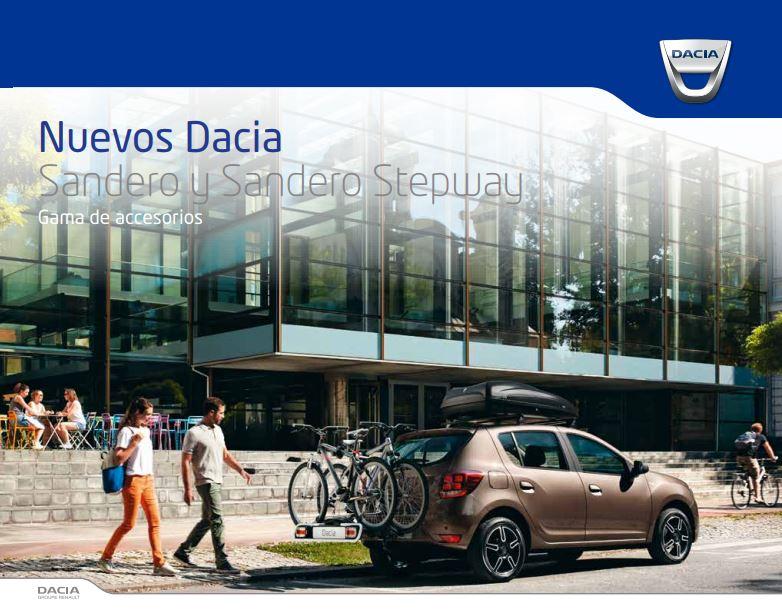 Gama de Accesorios Dacia Sandero