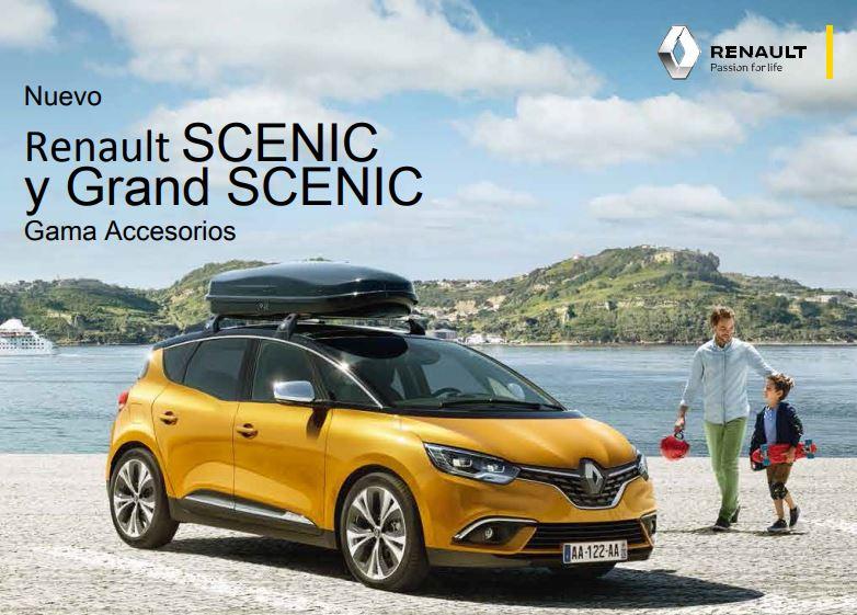 Gama de Accesorios Renault SCENIC