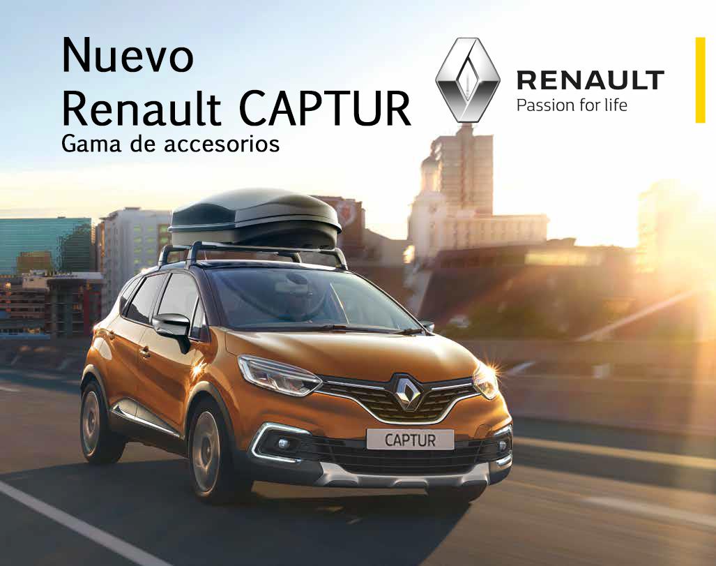 Gama de Accesorios Renault CAPTUR