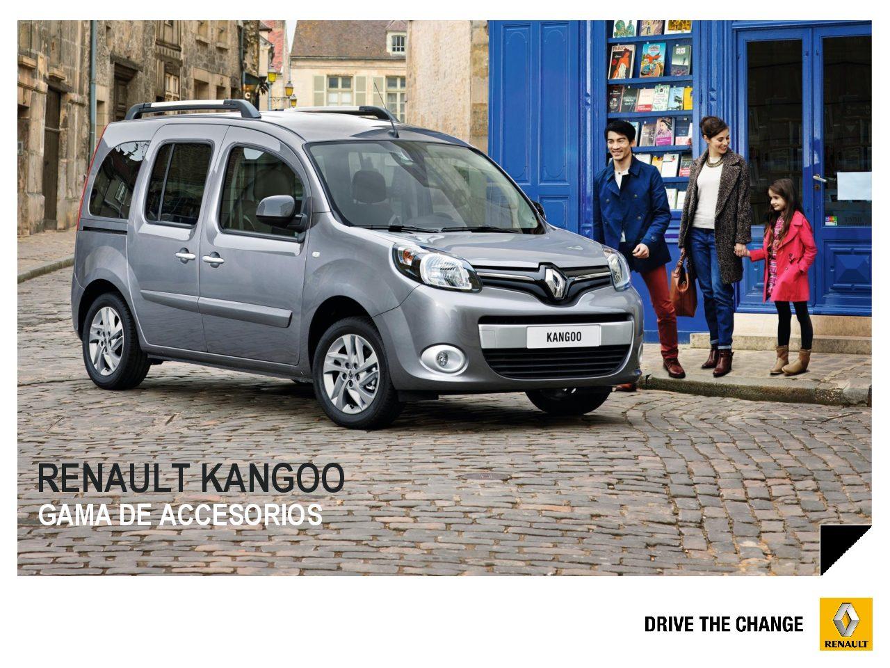 Gama de Accesorios Renault KANGOO