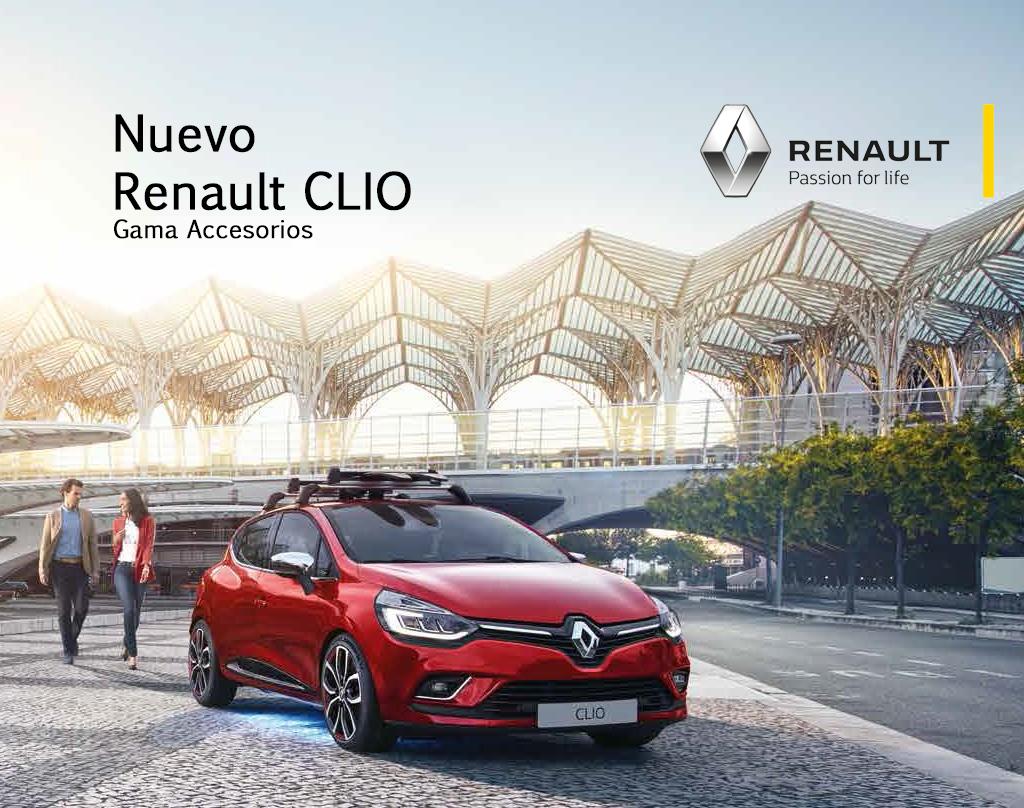 Gama de Accesorios Renault CLIO