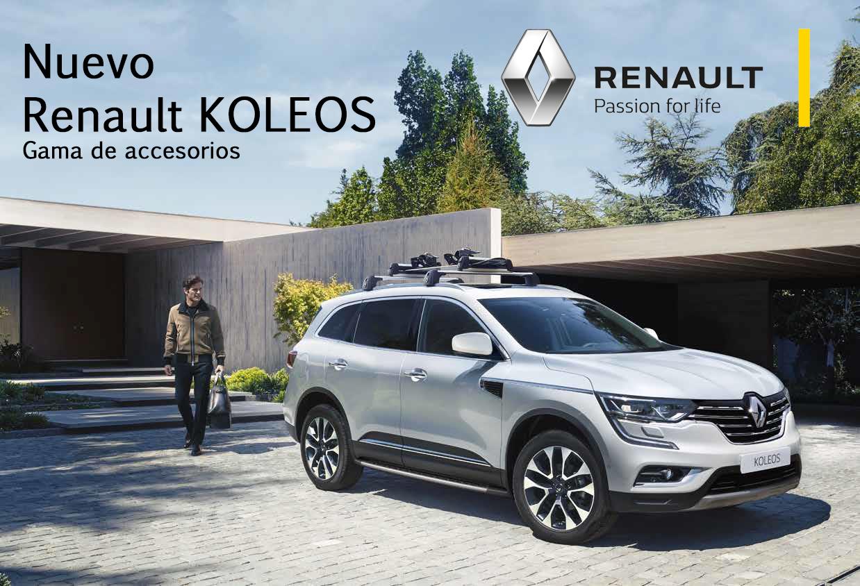 Gama de Accesorios Renault KOLEOS