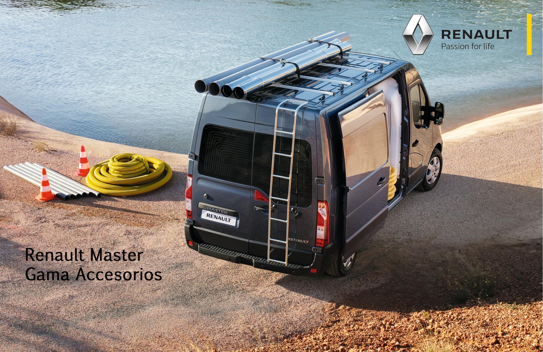 Gama de Accesorios Renault Master