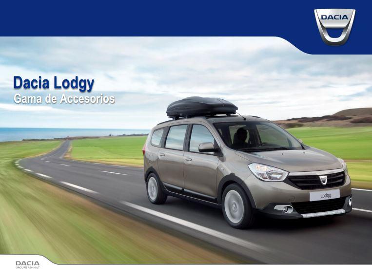 Gama de Accesorios Dacia Lodgy