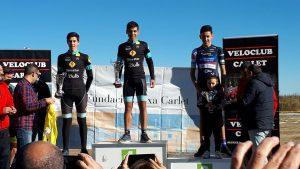 podium carlet Adrian y Jordi