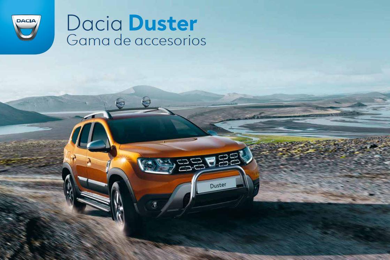 Gama de Accesorios DACIA – Nuevo Duster