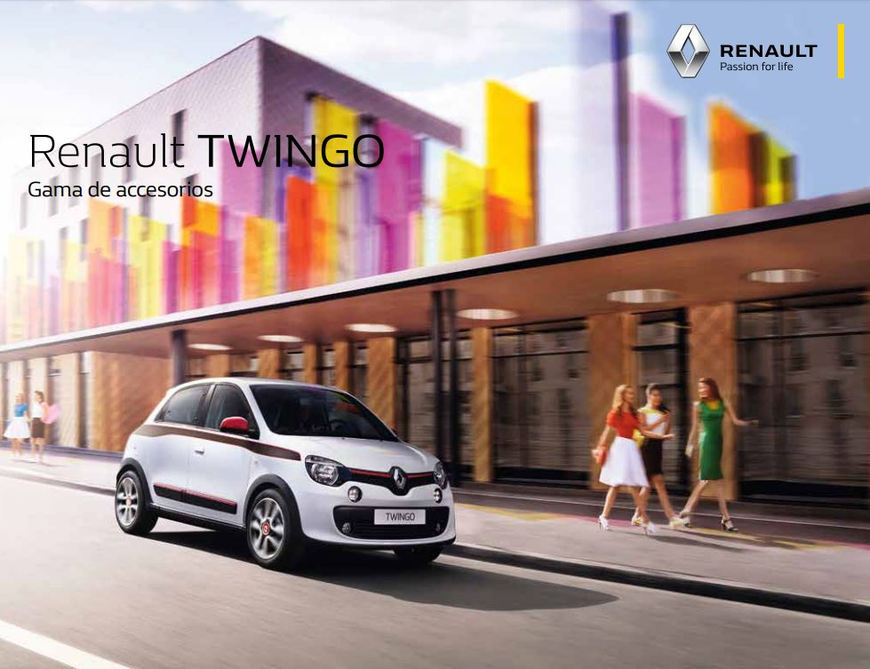 Gama de Accesorios RENAULT – Twingo