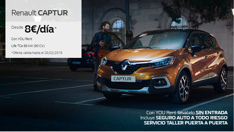 CAPTUR YOU RENT