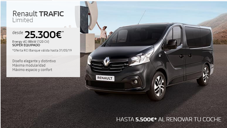 RENAULT TRAFIC SL LIMITED