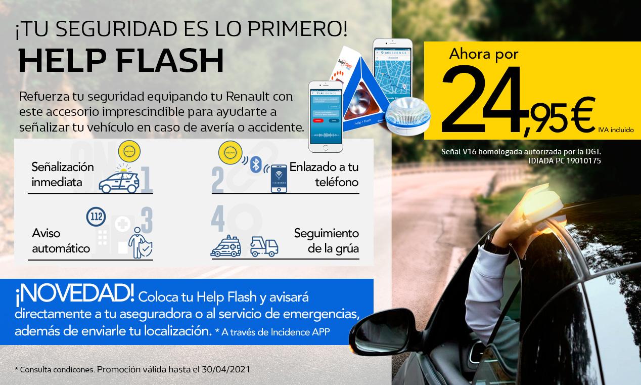 CAMPAÑA SENSORES DE PARKING TRASERO + HELP LUZ FLASH DE REGALO