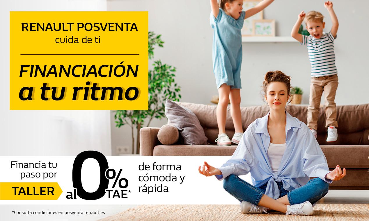 Renault Financiación 0% TAE – PV