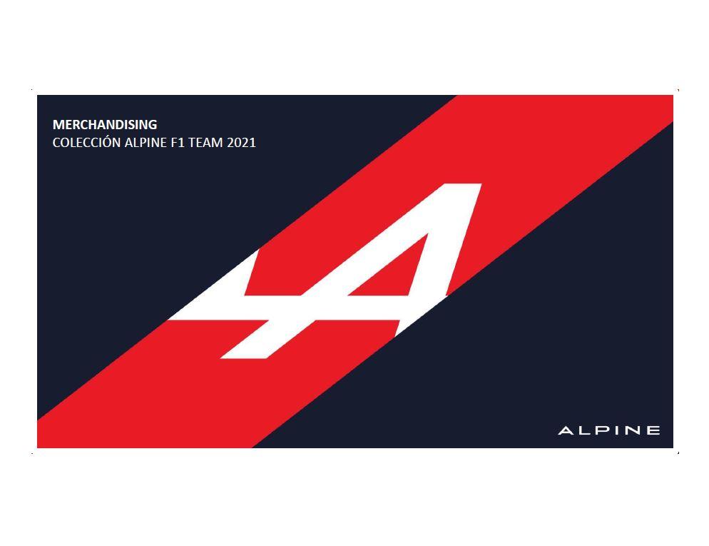 Gama de Accesorios Catalogo Alpine F1